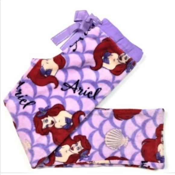 6b3efdea37a1 Disney Other - Disney Ariel Fleece Fuzzy Sleep Lounge Pants MED